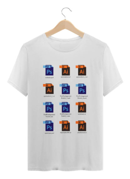 Camiseta Arquivos